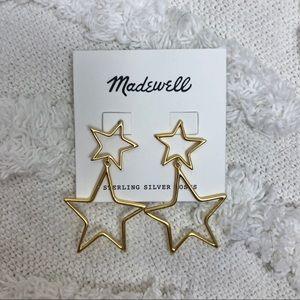NEW Madewell Star Earrings